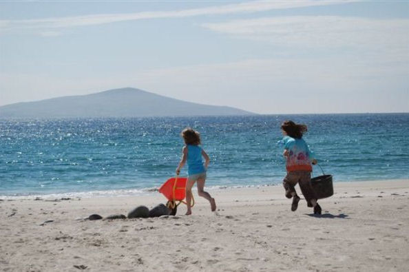 Family holiday on the Hebridean islands